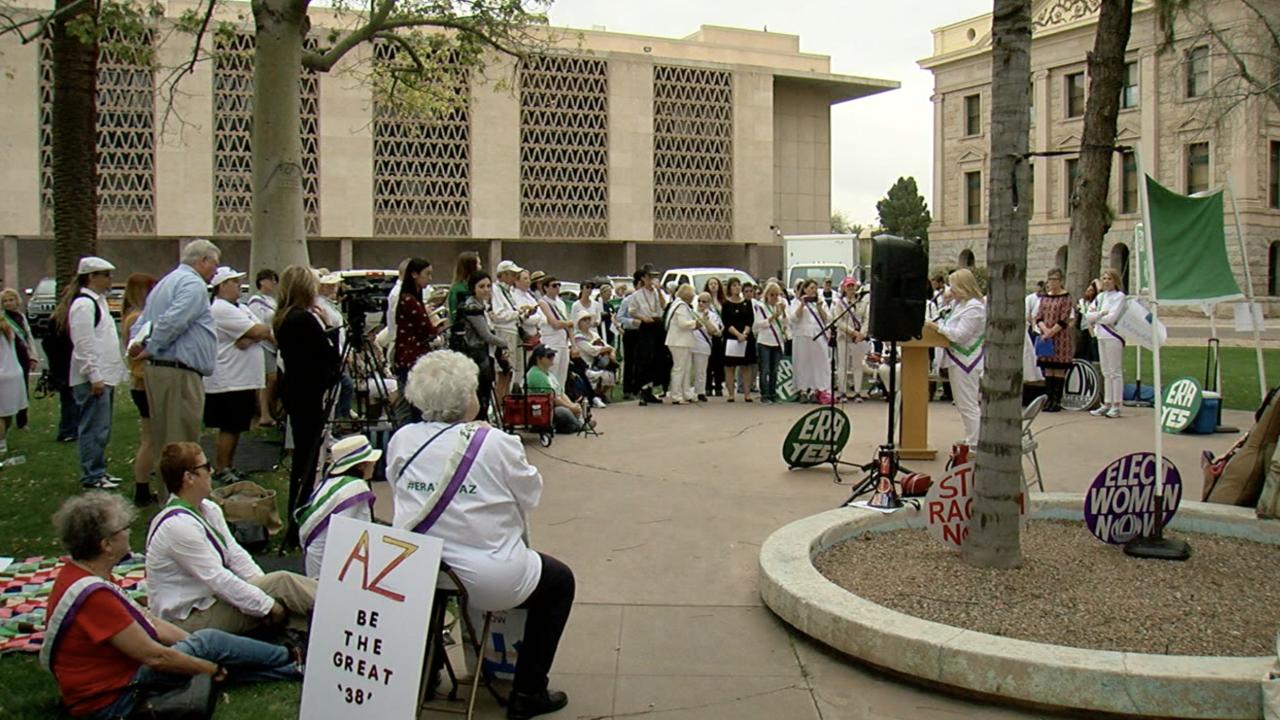 KNXV Equal Rights Amendment March Capitol