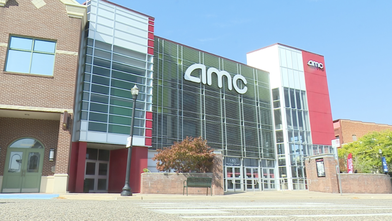 Movie Theaters Begin to Reopen