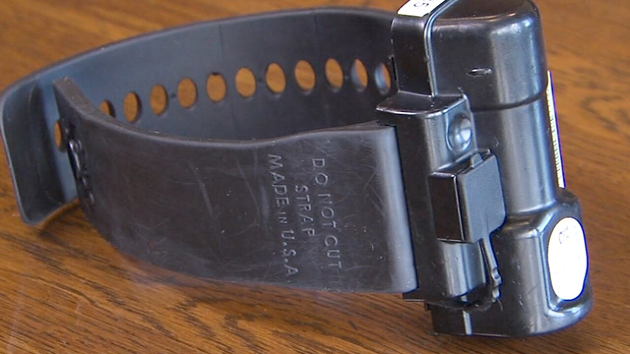 Questions about Cuyahoga County ankle monitor system after