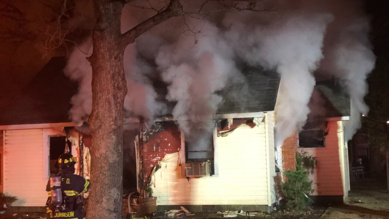 Woman found dead in Newport News house fire on Christmas