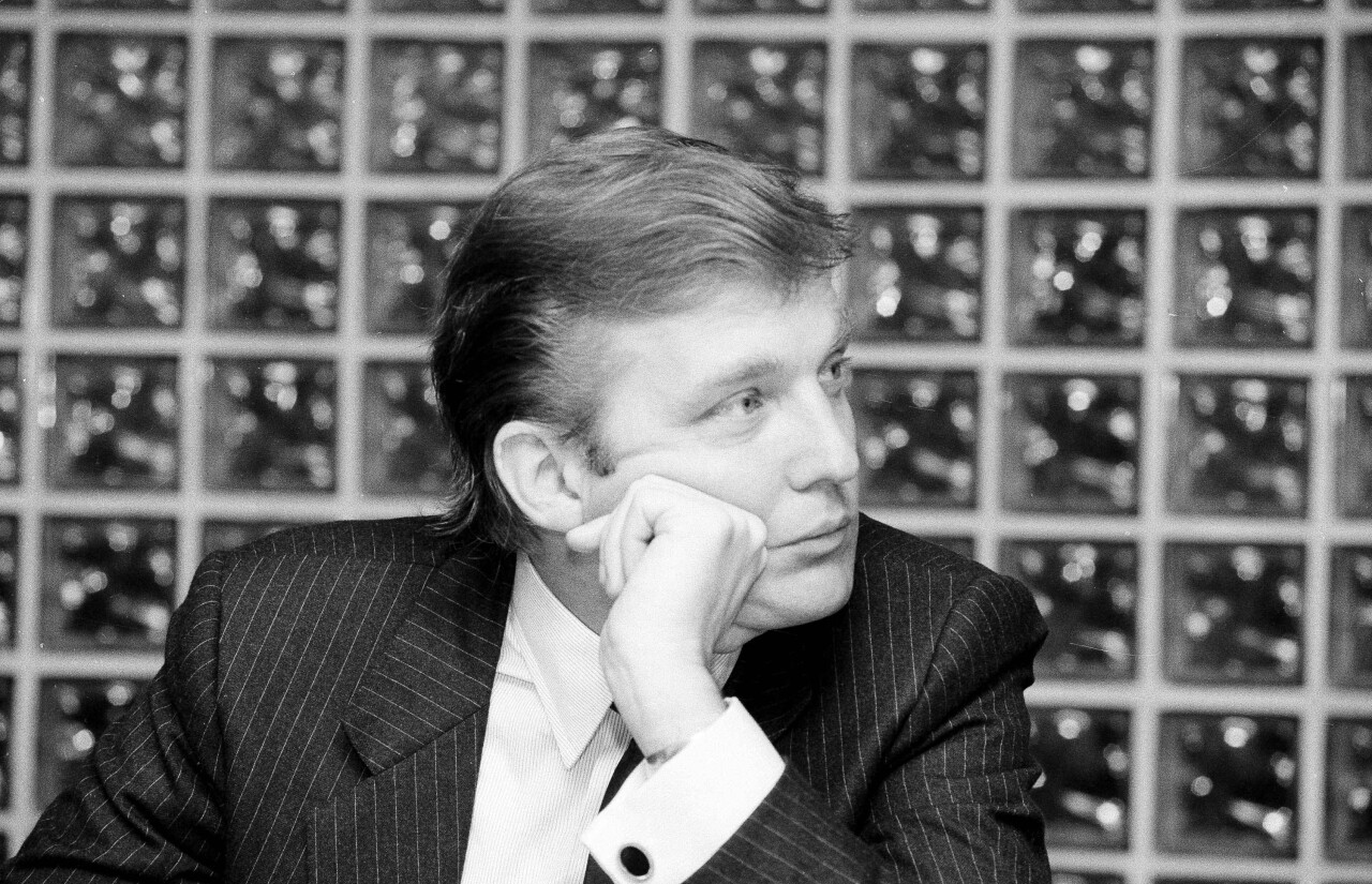 Donald Trump in 1984