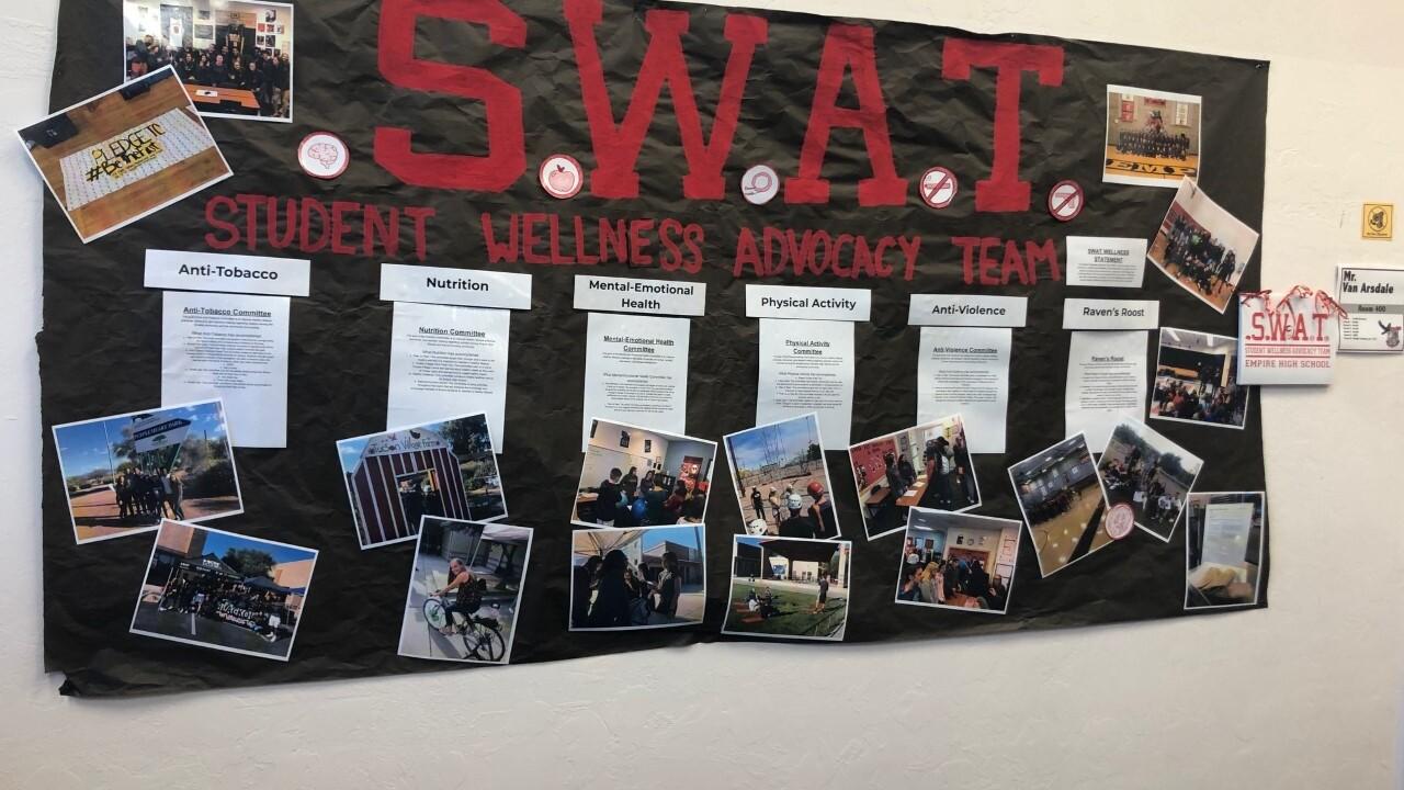 S.W.A.T. organization at Empire High School