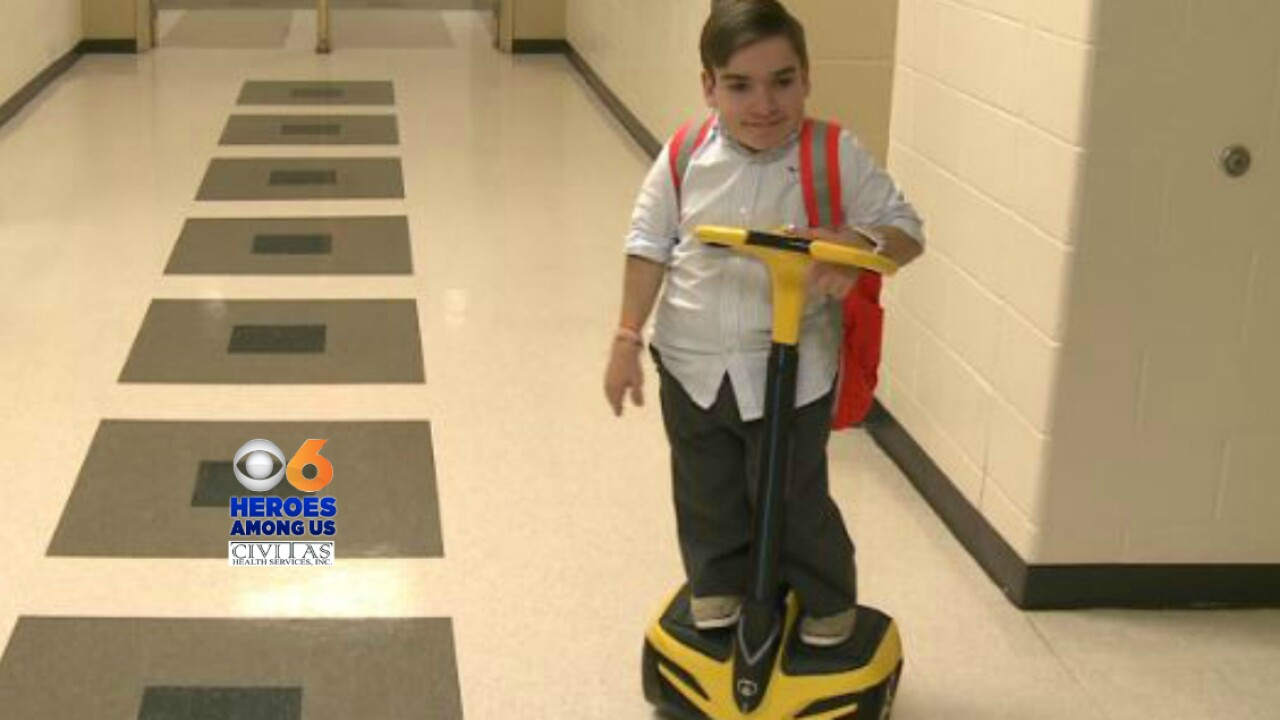 Brandon Farbstein doesn't let dwarfism get in the way of bigdreams