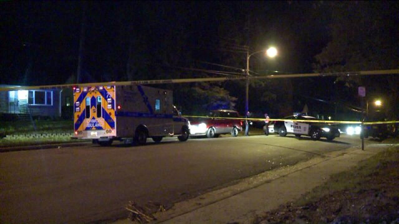 Body found in van near Forest HillAvenue