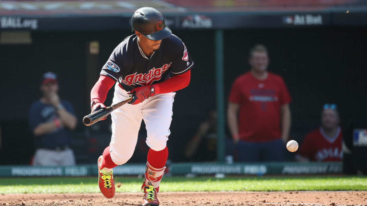 IMAGES: Cleveland Indians falls to Houston Astros, 11-3