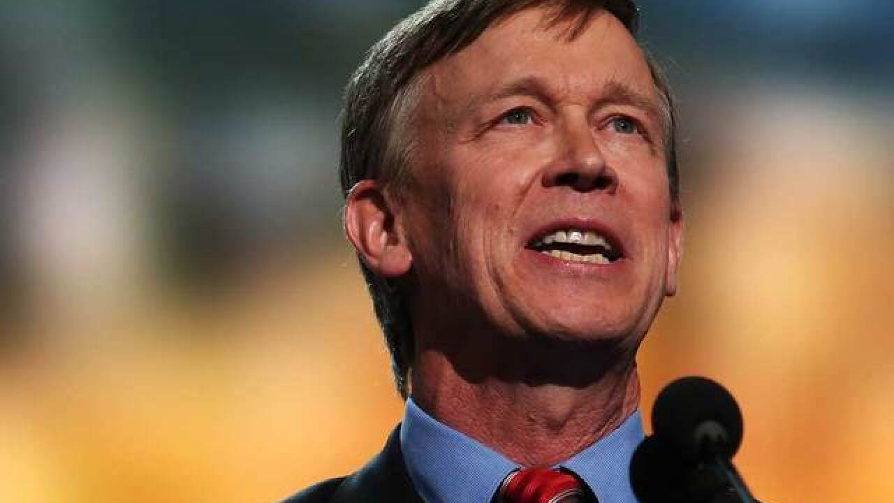Gov. Hickenlooper to speak at DNC