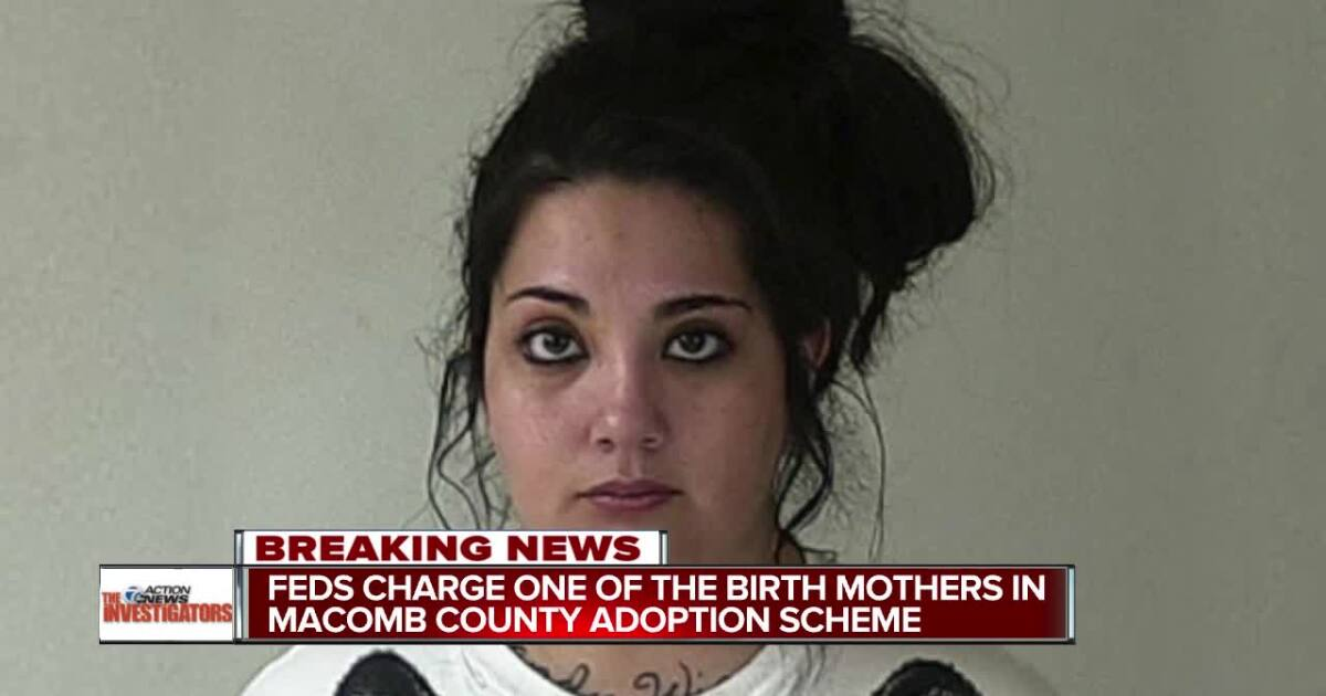 Second mom arrested in Macomb County adoption fraud scheme