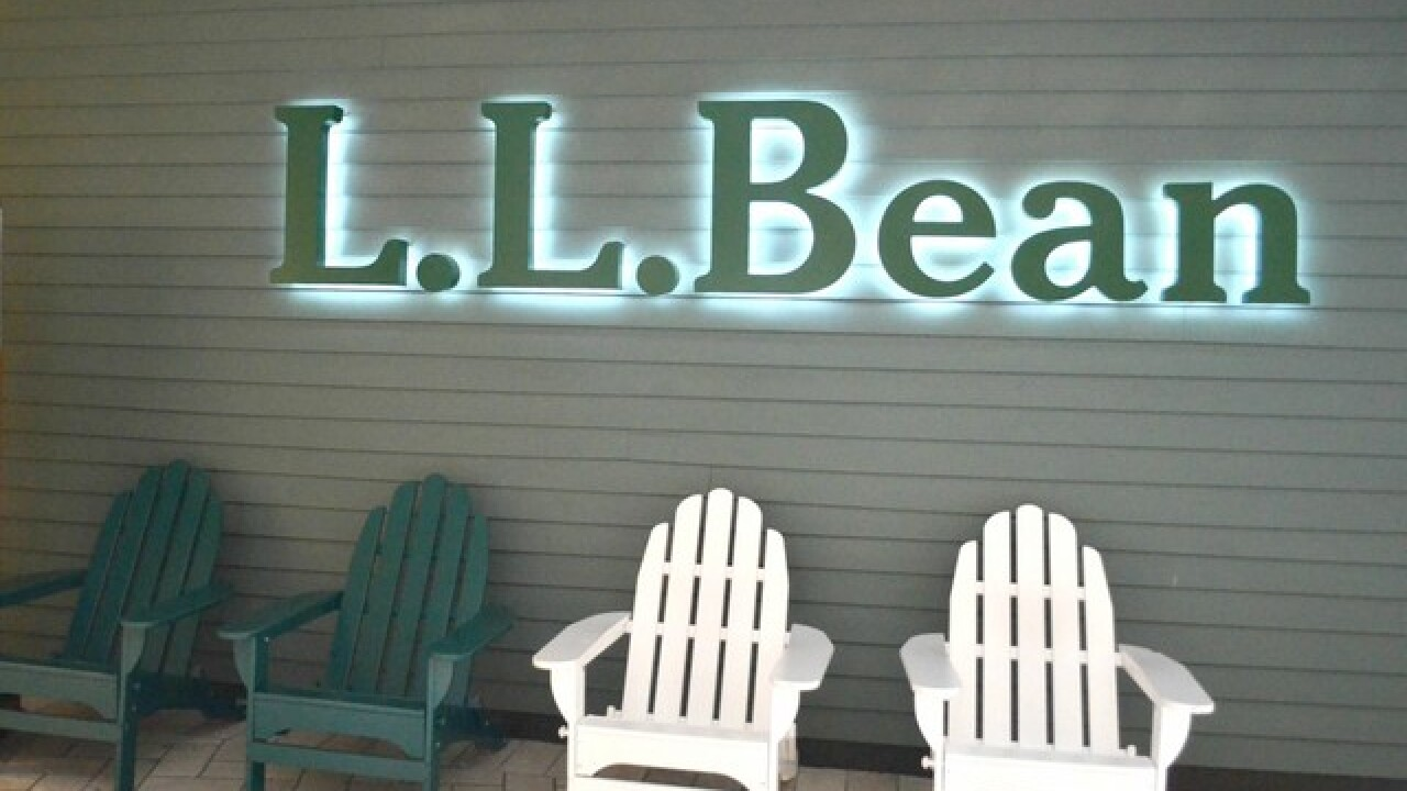 Get a $10 gift card when you spend $50 at L.L. Bean