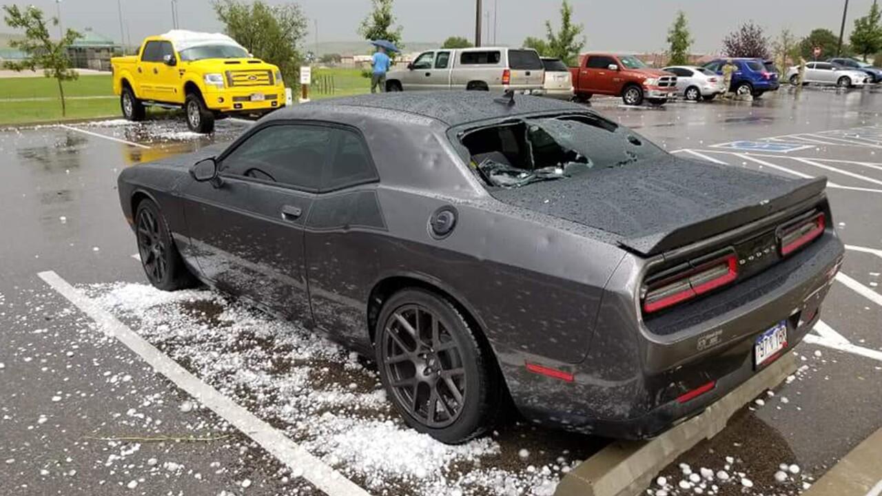 August 6th, 2018 Dodge Challenger Damage