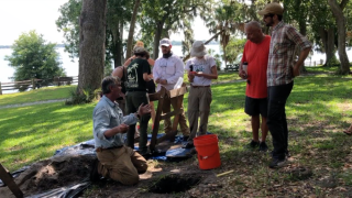 Safety Harbor Philippe Park archaeological dig