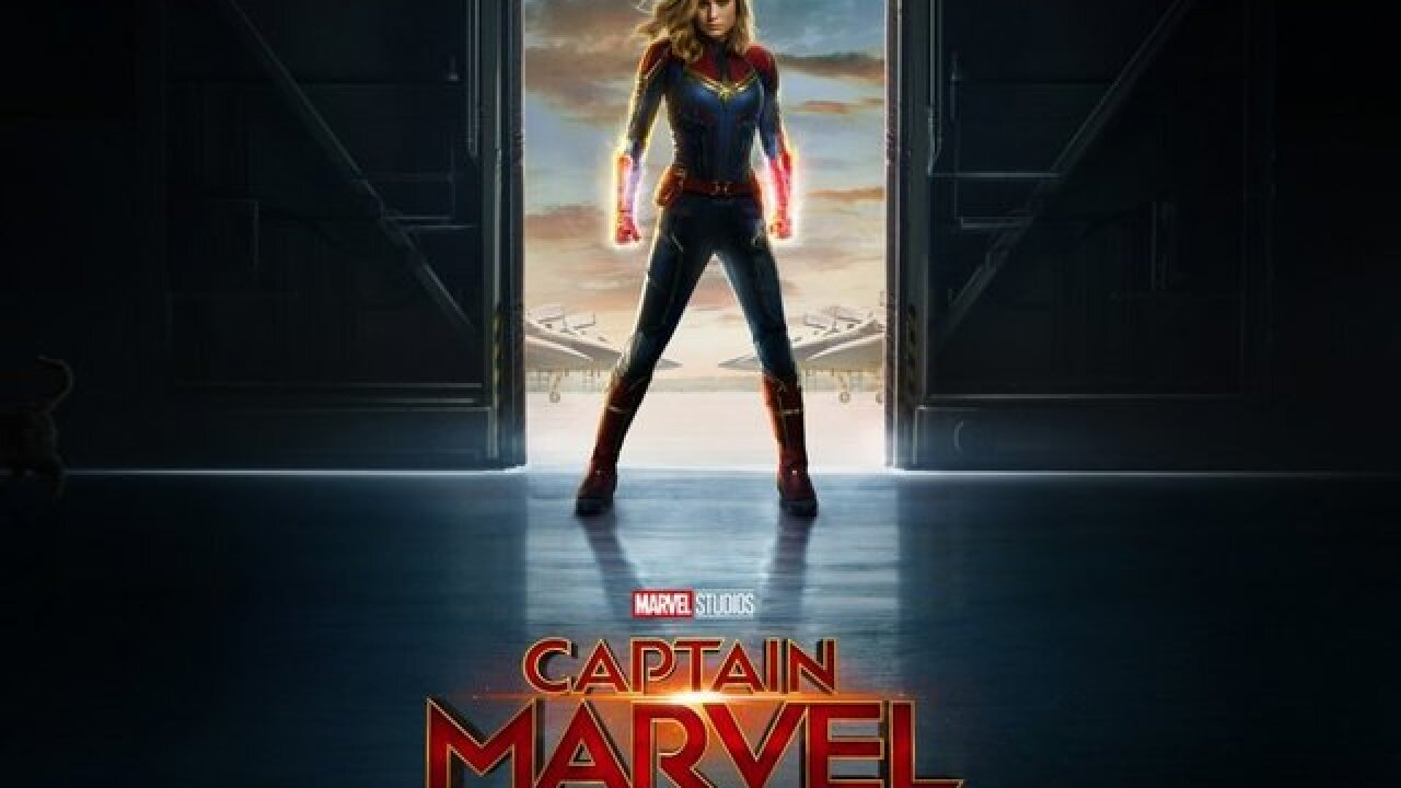 Watch the second trailer for 'Captain Marvel' in theaters March 8, 2019