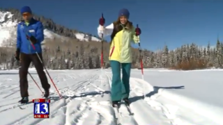 Living Elevated: Kristen Van Dyke tries cross-country skiing