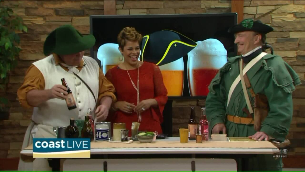 A colonial beverage lesson to get ready for the Revolutionary Beer Fest on Coast Live