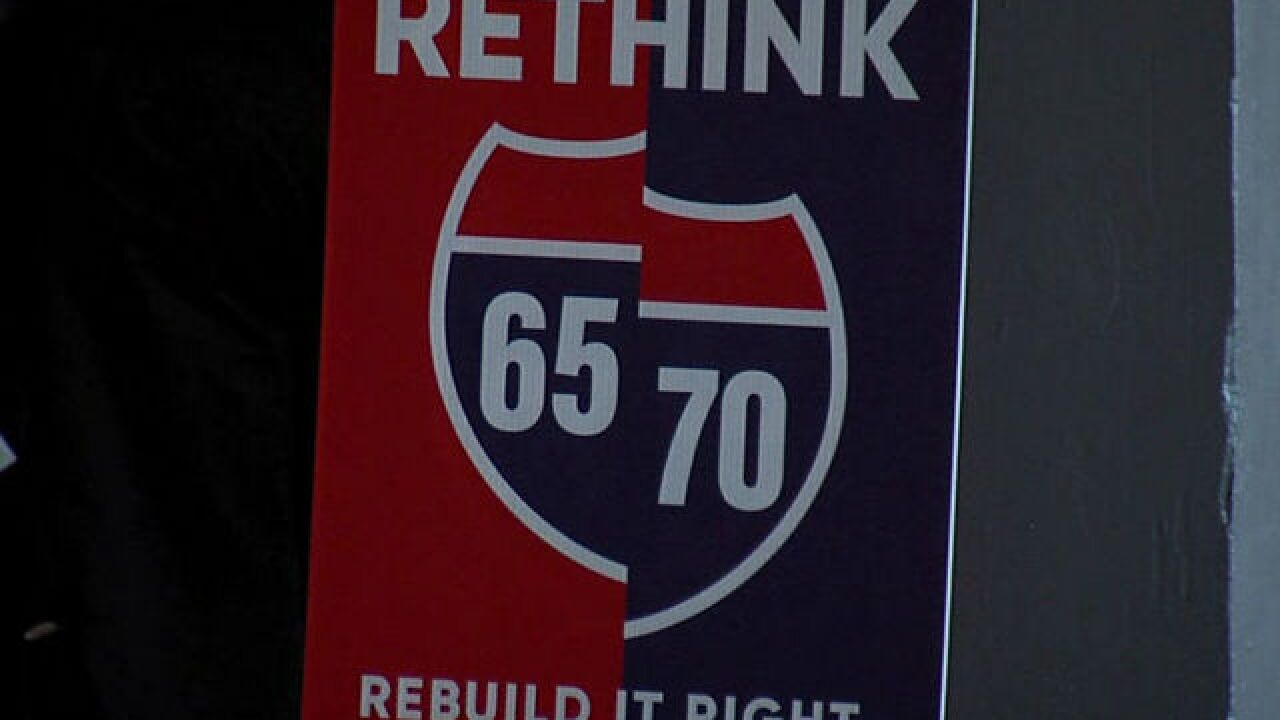 I-65 construction causing North Split concerns