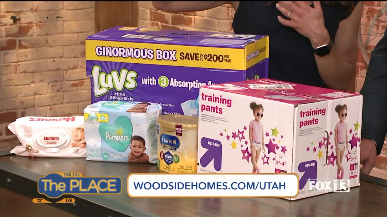Where to drop off diapers for families experiencinghomelessness