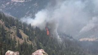 Beeskove wildfire grows north of Missoula