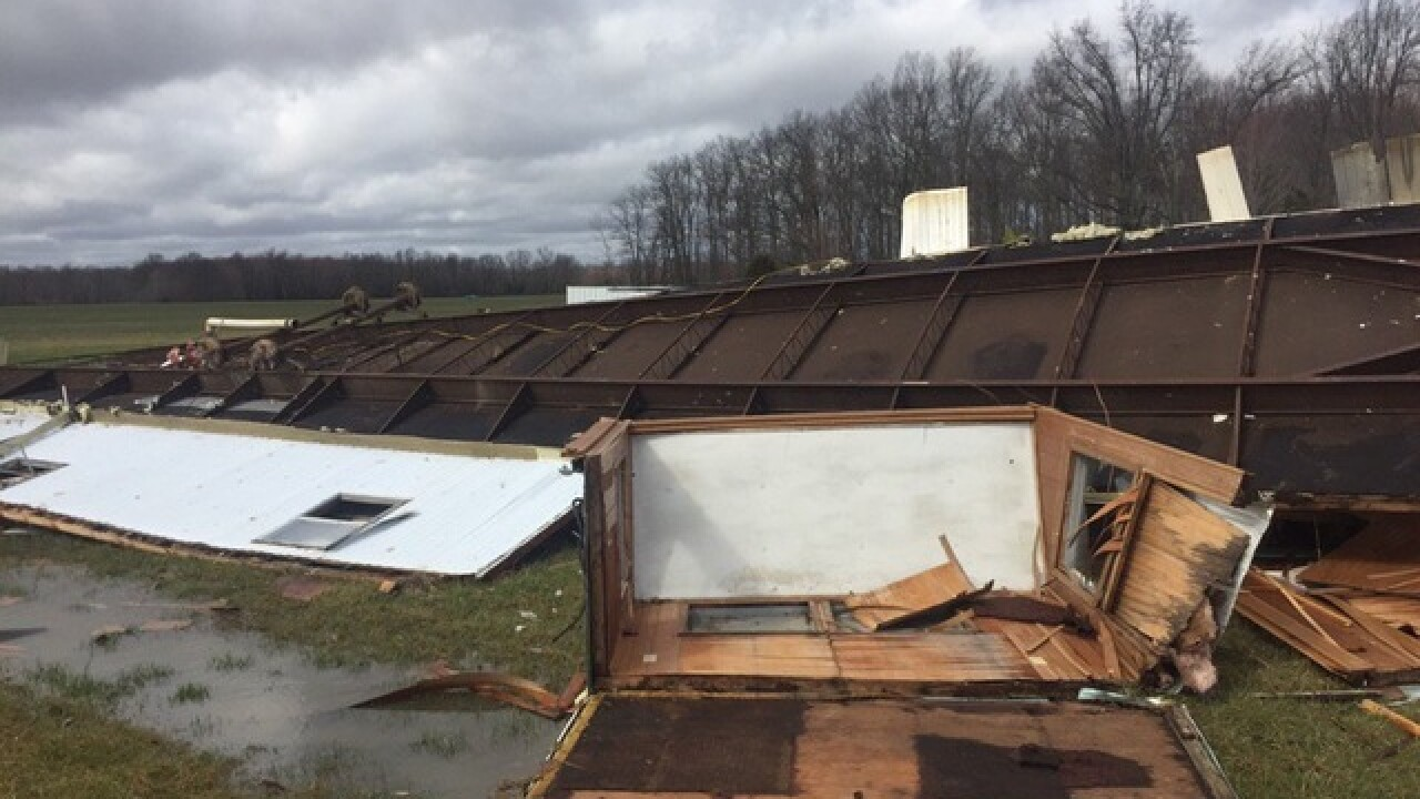 Storm damage scattered all over Tri-State
