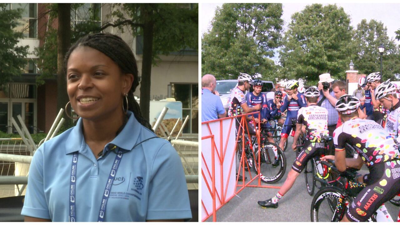 HOLMBERG: This is RVA's race. Let's finishstrong
