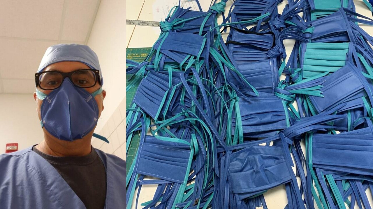 Face masks donated by Boca Raton woman