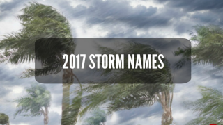 LIST | Storm Names for the 2017 Hurricane Season