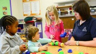 Choosing between preschool and daycare