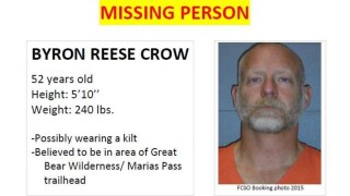 Flathead County Sheriff's Office searching for missing man