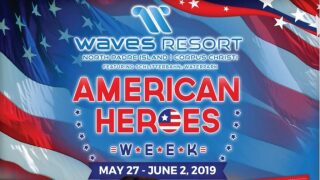 Veterans and active military get in free to Waves Resort this weekend