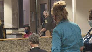 Sister of victim speaks during court hearing for Christopher Garrett