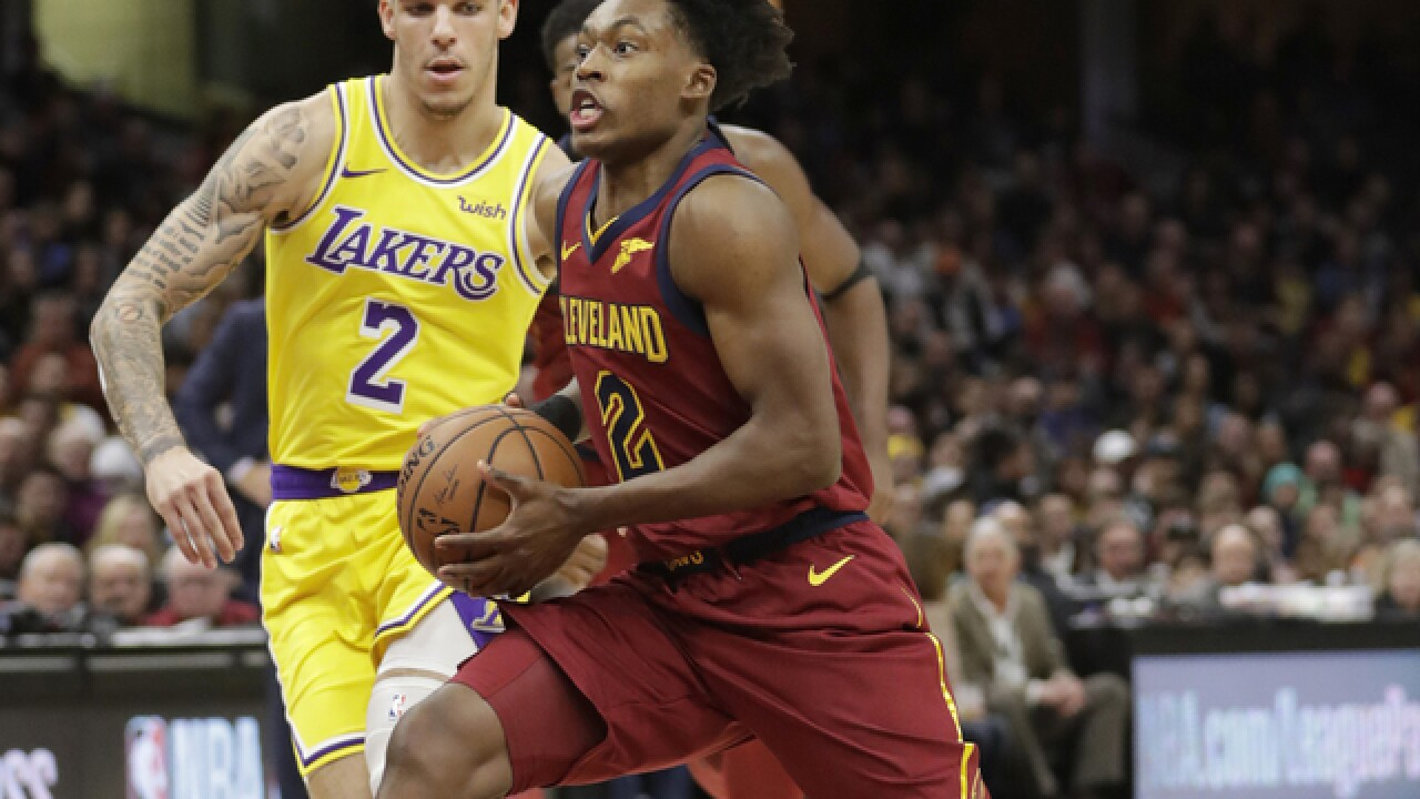 sale retailer 15317 28818 Collin Sexton selected to NBA All-Rookie Second Team