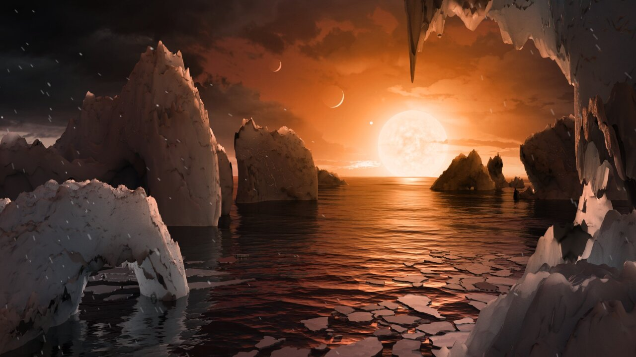 NASA: 7 new planets orbiting nearby star could support life