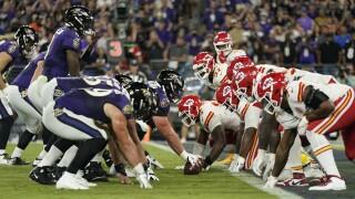 Chiefs Ravens Football