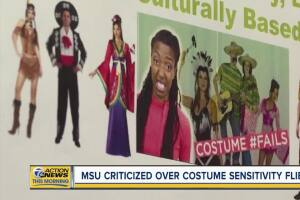Michigan State University is in the middle of a culture war over Halloween costumes.