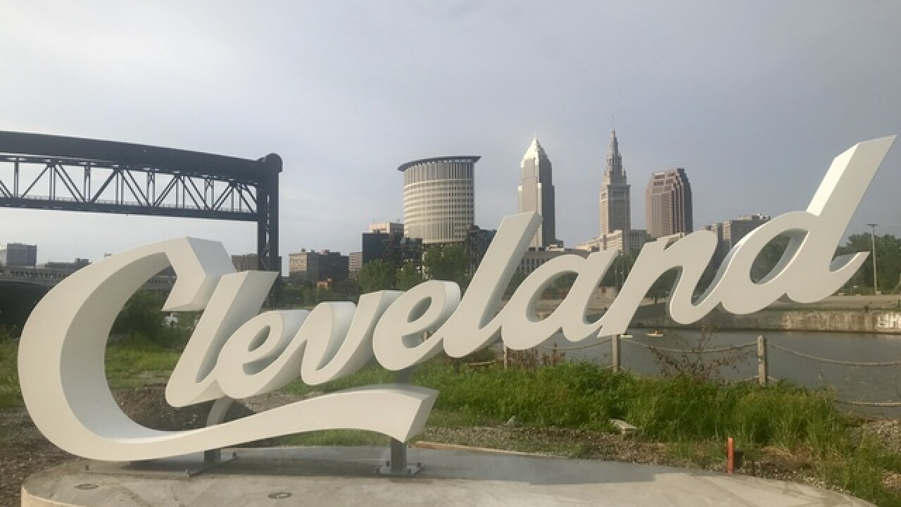 Another Cleveland script sign has popped up — can you guess where?