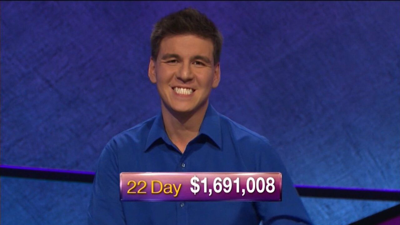 'Jeopardy!' champion James Holzhauer wins his 23rd game, continuing his streak
