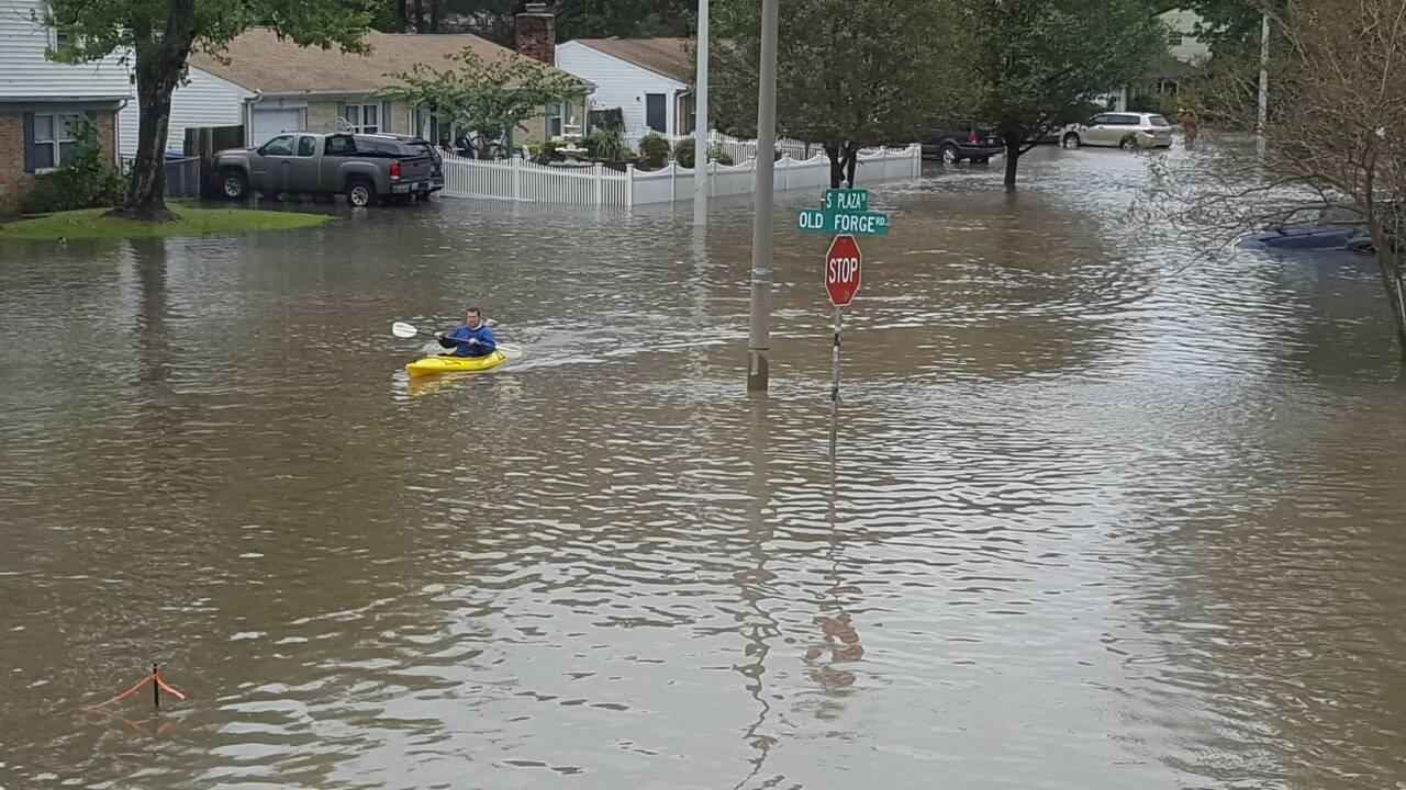 Virginia Beach neighbors take flooding concerns to socialmedia