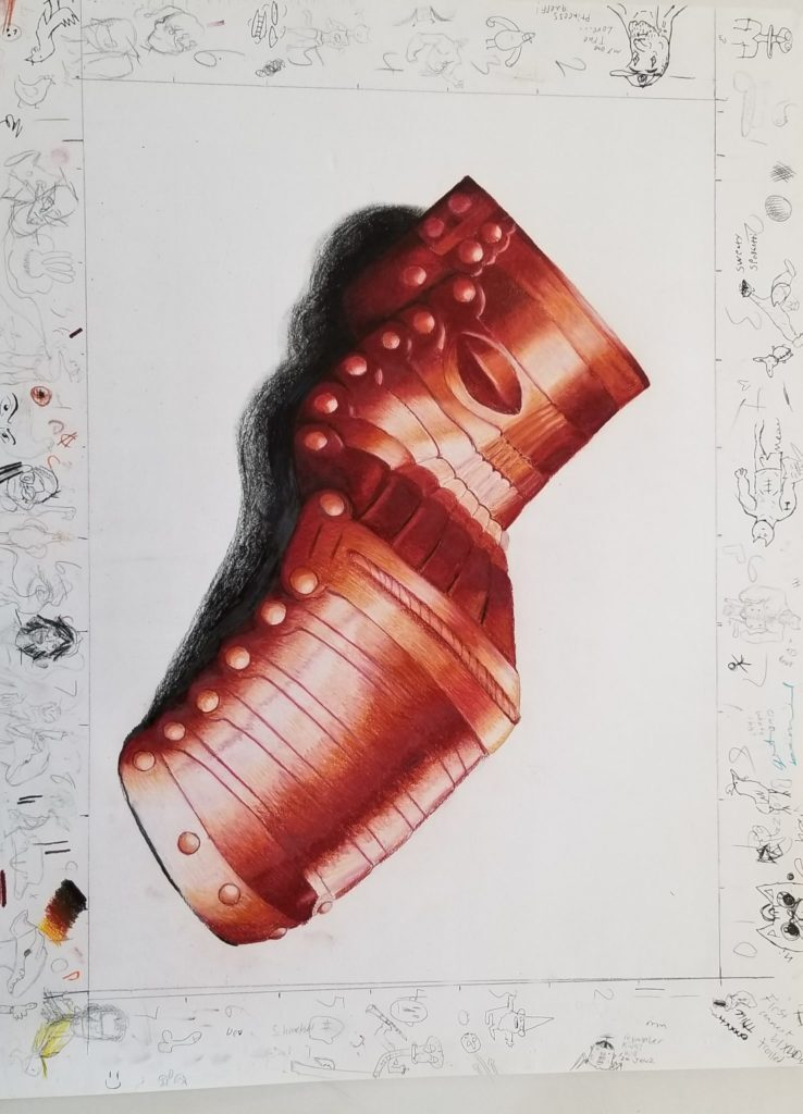 Southern Arizona students receive arts scholarship. Art by: Colter Pauley