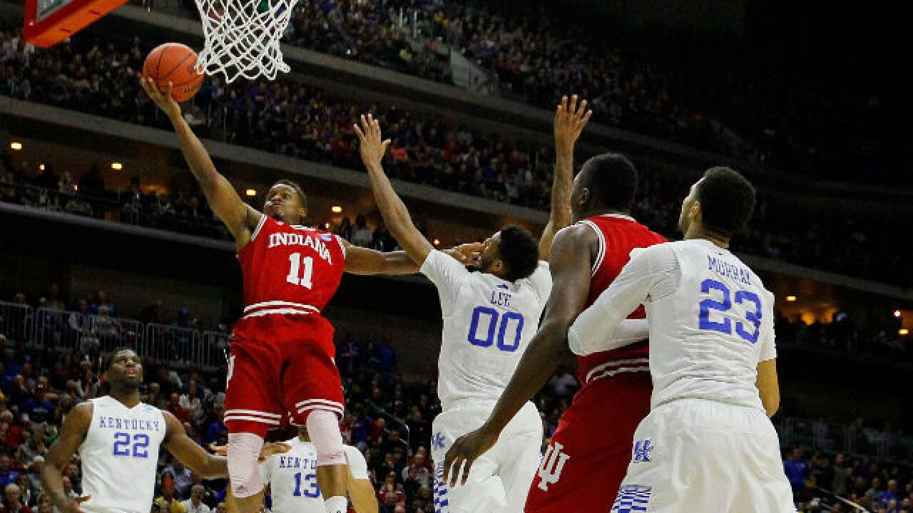 Indiana knocks off Kentucky to reach Sweet 16