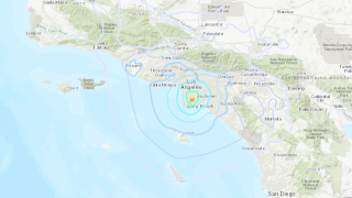 Carson Earthquake, Carson, September 17, 2021