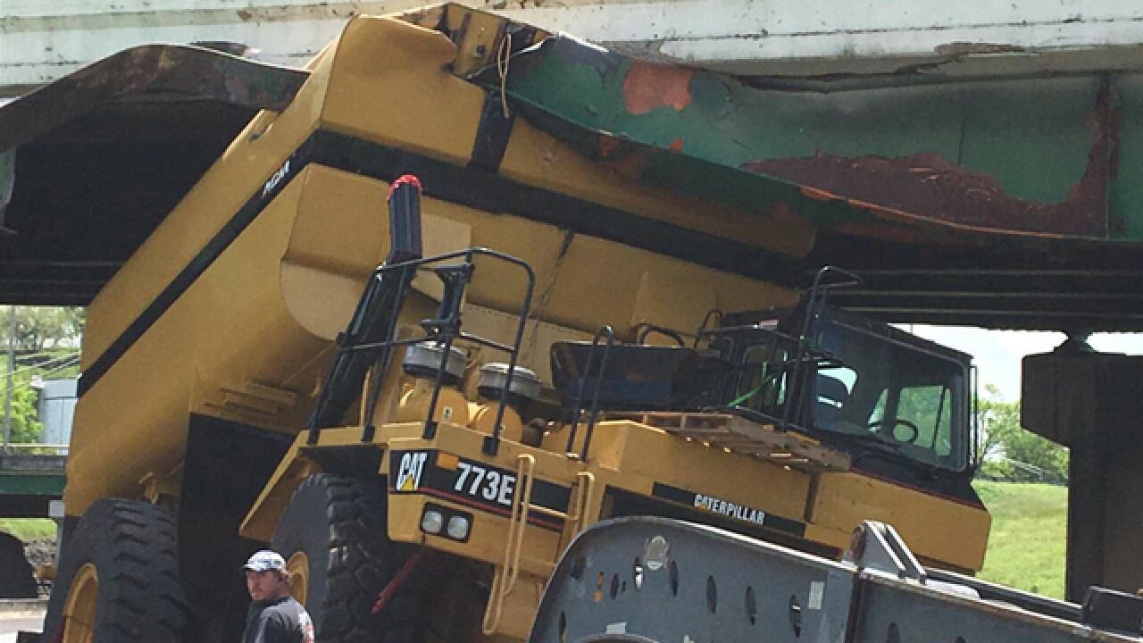 I-40/I-65 Reopens After Semi Hits Bridge In Nashville