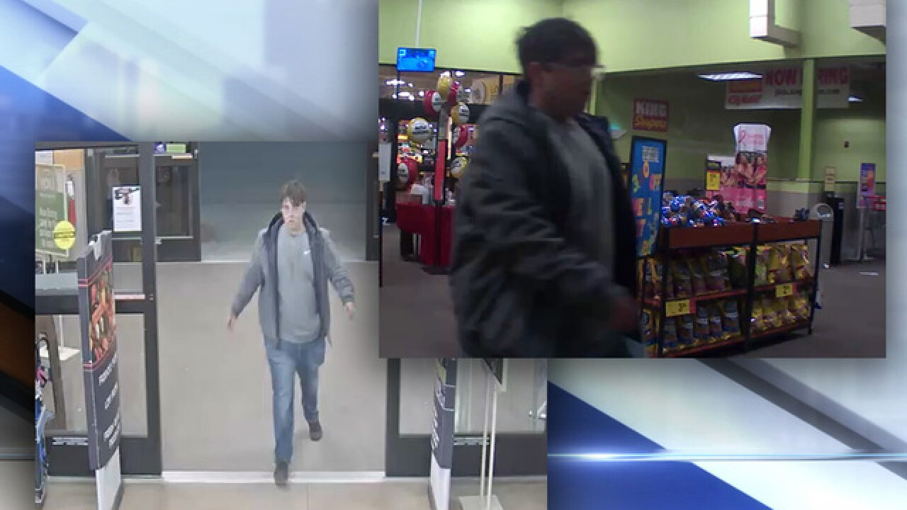 Suspect wanted for unlawful sexual contact, shoplifting at Parker King Soopers