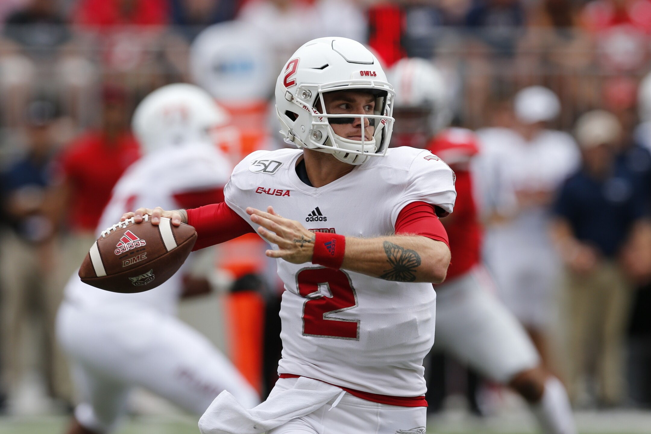 FAU Owls QB Chris Robison vs. Ohio State in 2019