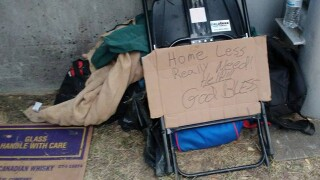 One Kentucky family of five took it upon themselves to get out and feed the homeless
