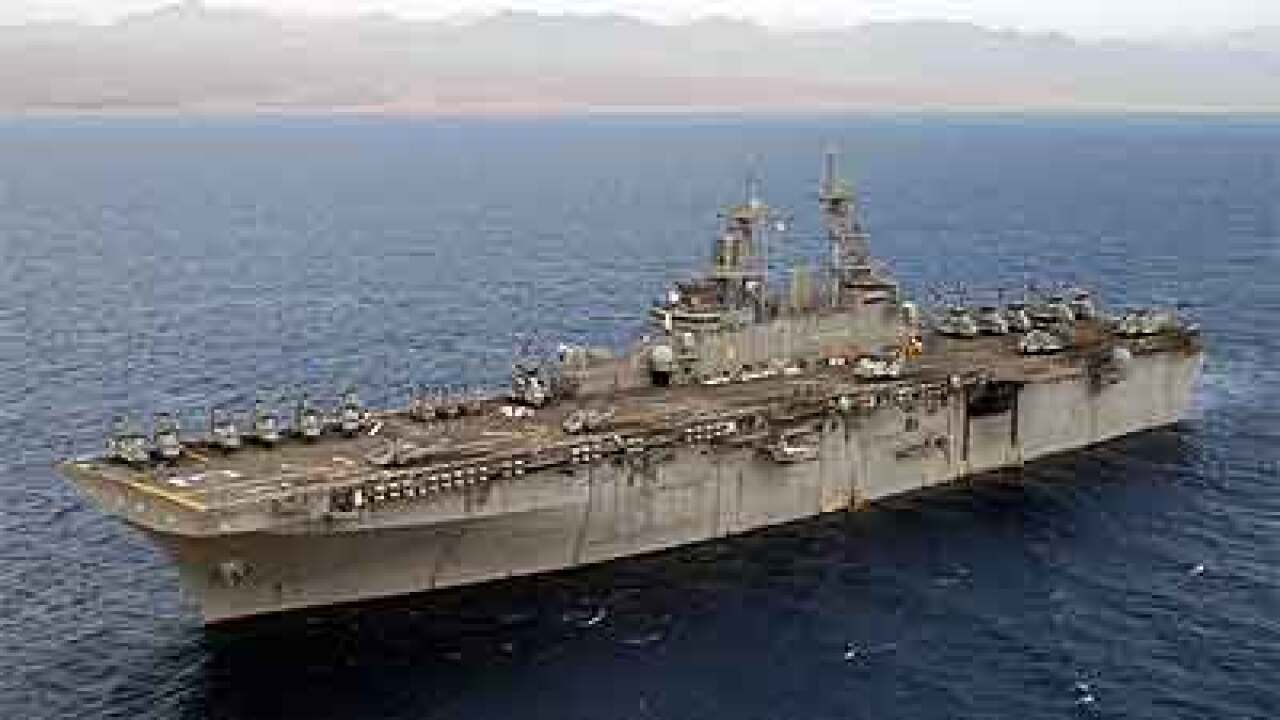 Report: Navy to install 4G network on ships