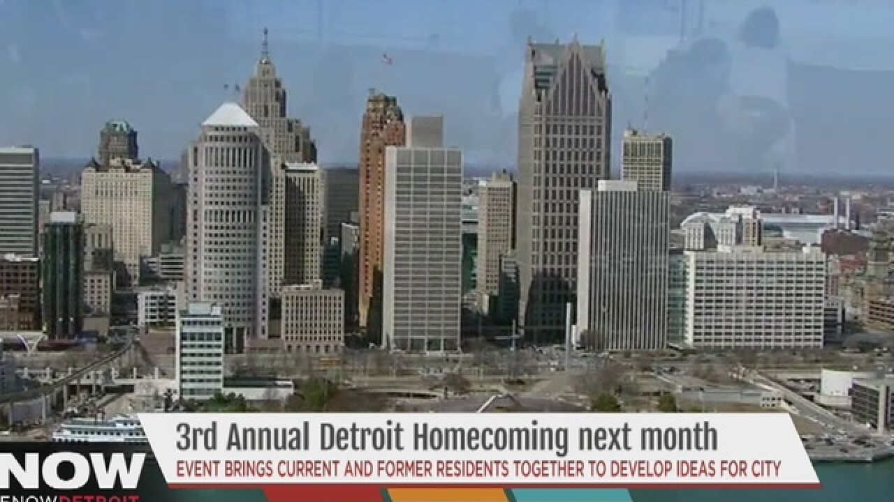 Detroit Homecoming details to be announced