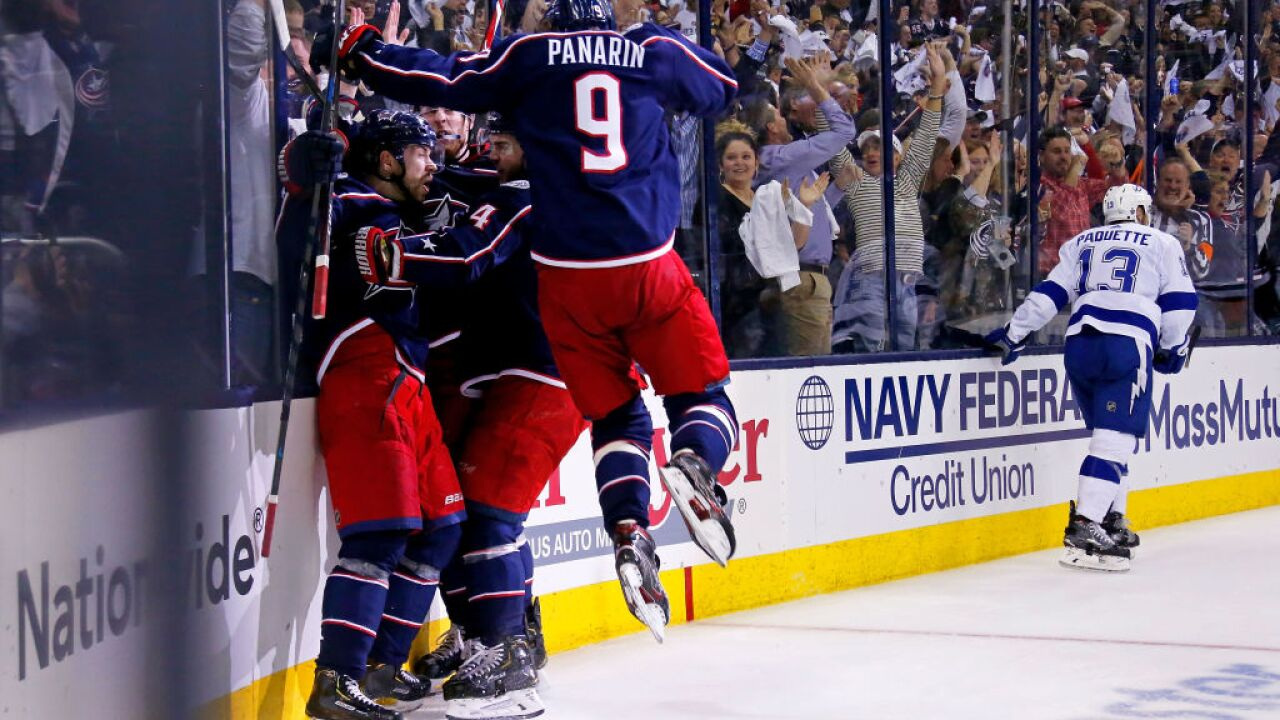 Tampa Bay Lightning v Columbus Blue Jackets - Game Four