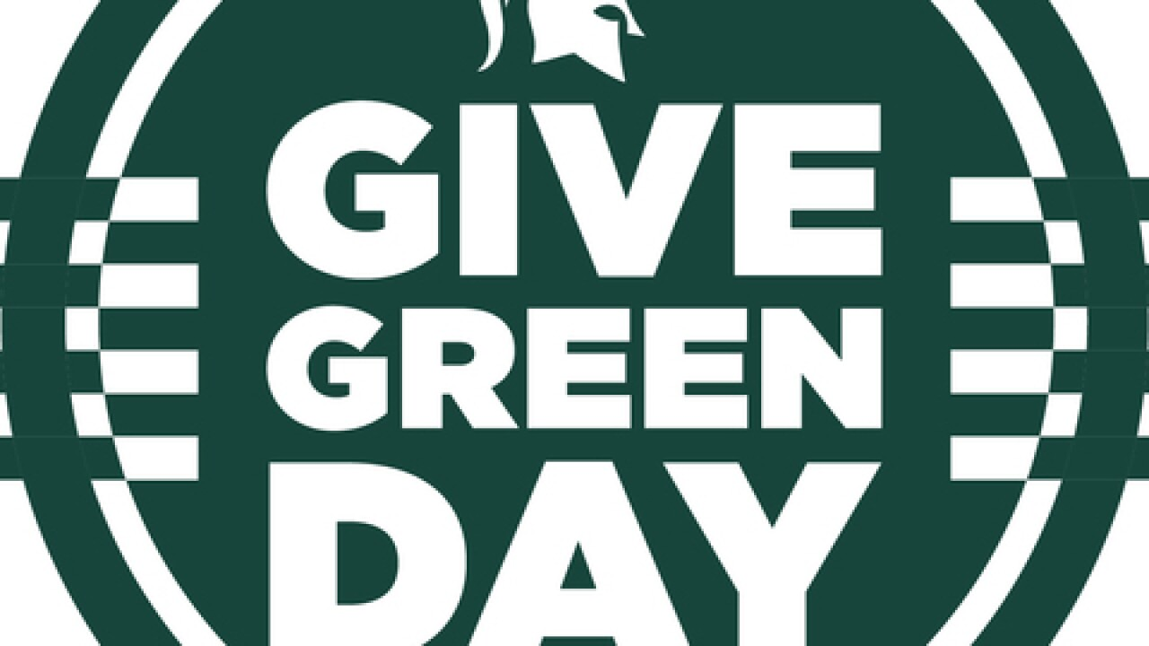 Give thanks during MSU's upcoming Give Green Day