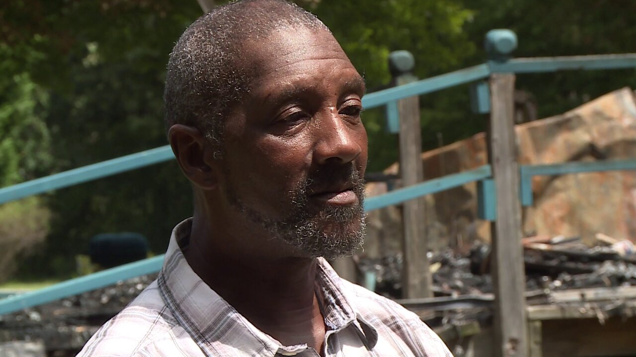 Mechanicsville man tries to rebuild after devastating fire: 'Everything is gone'