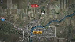 Victims of crash near Great Falls have been identified