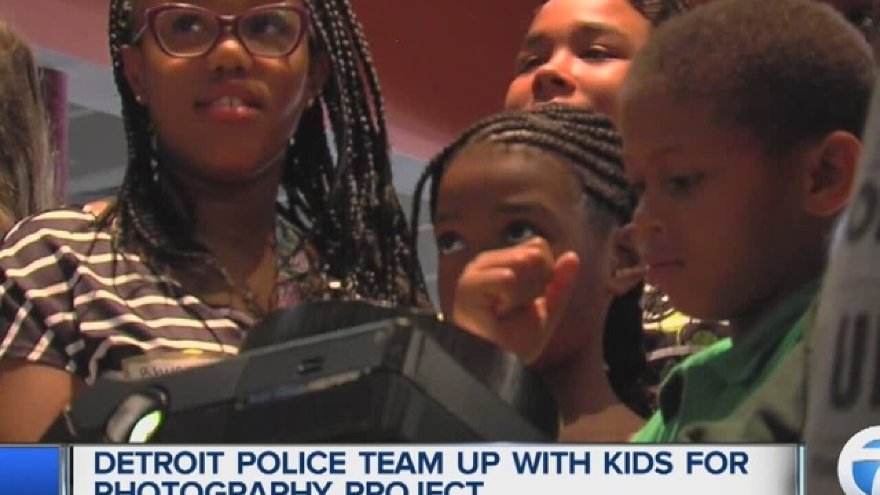 Police team up with kids for photo project
