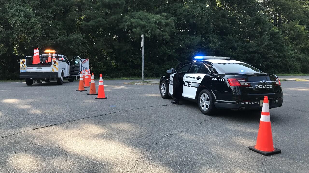 CH Cedar Road/Waters Road gas leak (August 11)